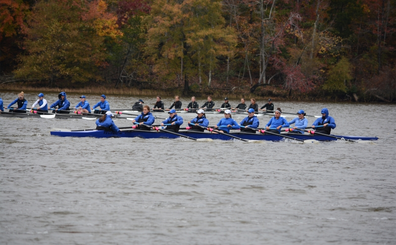 The Blue Devils held their own against a pair of ranked squads in No. 14 Indiana and No. 17Notre Dame Saturday in Bloomington, Ind., winning four races.