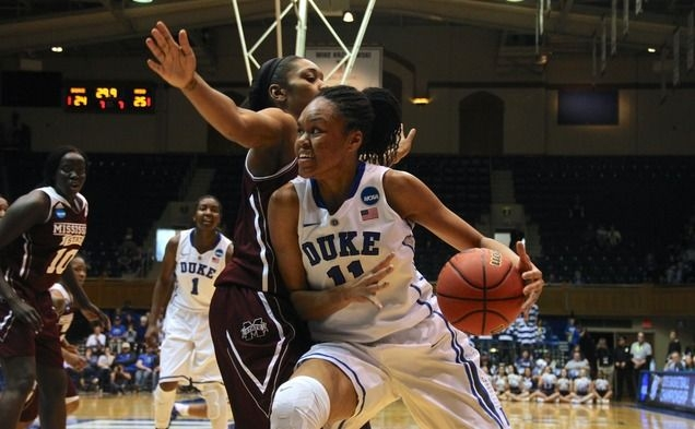 Azurá Stevens led Duke in scoring and rebounding but will transfer to Connecticut after two seasons in Durham.