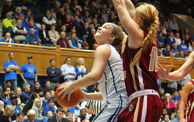 Coming off the bench in the last two games, Tricia Liston has averaged 17 points per game.