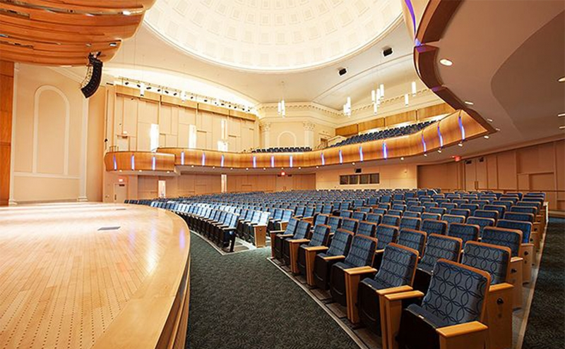 Baldwin Auditorium reopened at the start of the year after renovations were completed.