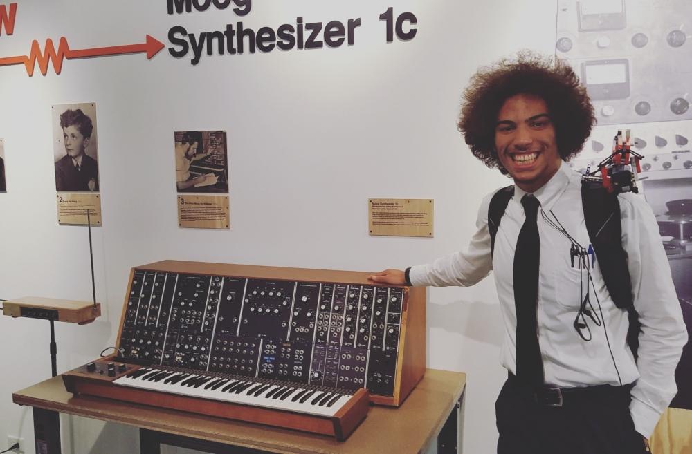 Duke Student Synthesizes Music and Machinery