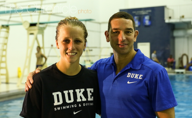 Olympic qualifier and Duke medical student Abby Johnston