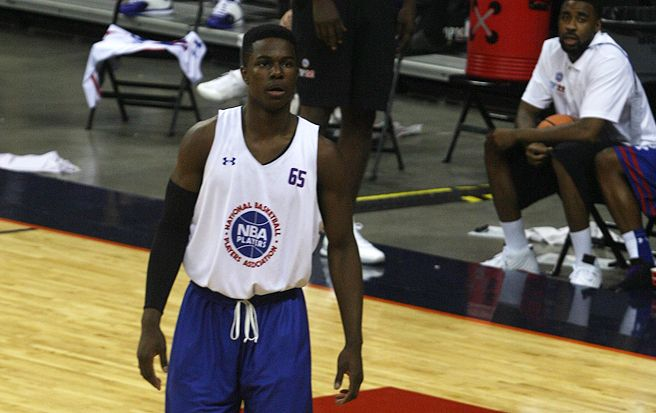 Small-forward Semi Ojeleye, a Kansas native, committed to Duke Sunday.