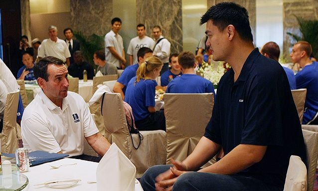 Mike Krzyzewski has 'great influence' on Chinese basketball