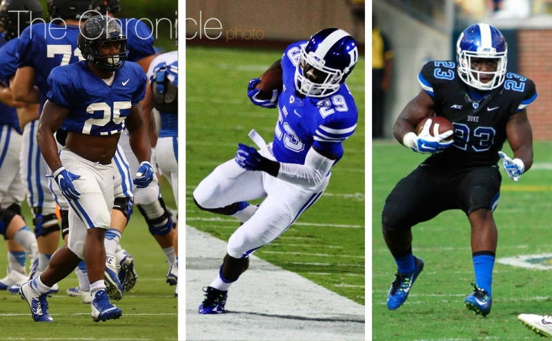 Duke football 2016 position preview: Running backs