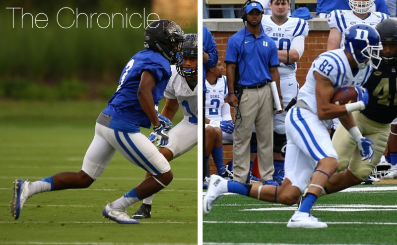 Duke football 2016 position preview: Wide receivers and tight ends