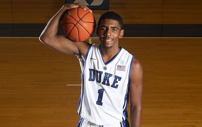 Selected No. 1in the 2011 NBA Draft following one injury-shortened season at Duke, Kyrie Irving played in his first All-Star Game last weekend..