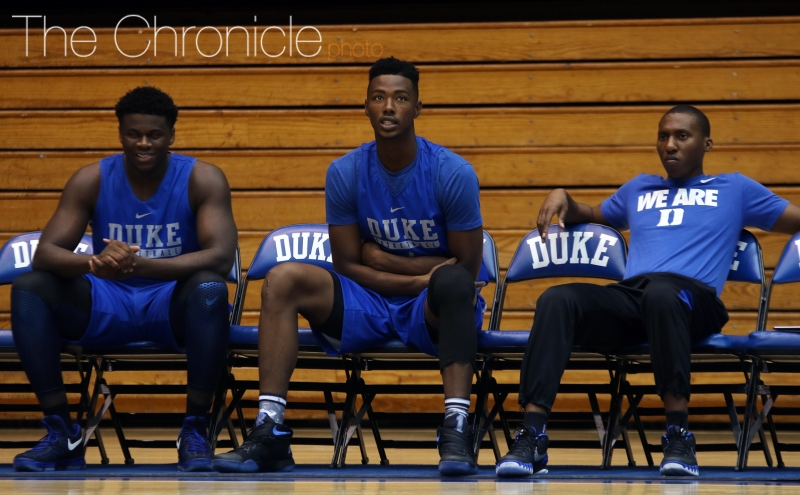 Freshmen impress for Duke men's basketball at Saturday open practice