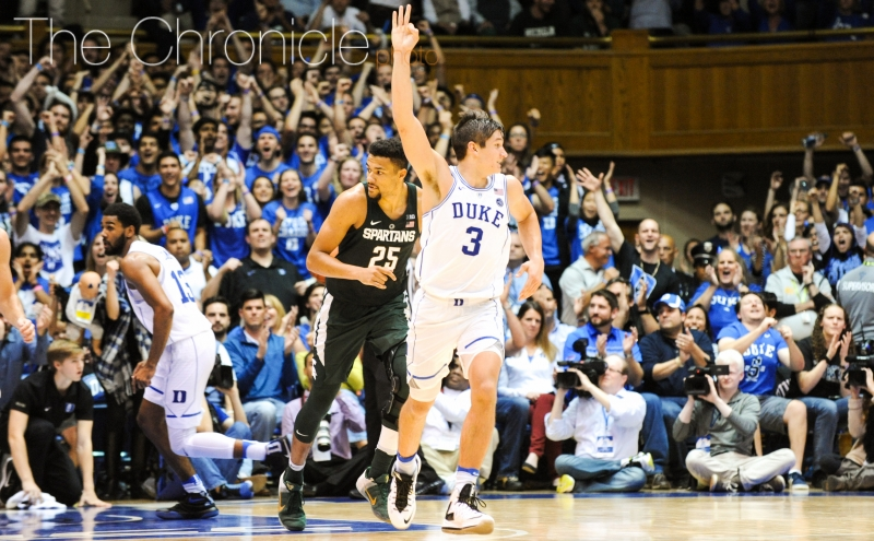 Chronicle postgame: Duke men's basketball vs. Michigan State