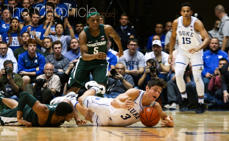 Injury update: Head coach Mike Krzyzewski discusses team's various ailments after Duke-Michigan State