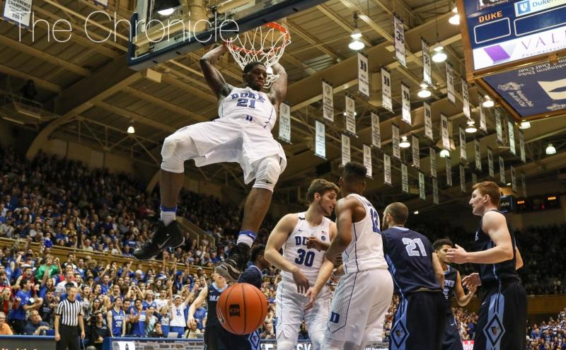 Chronicle postgame: Duke men's basketball vs. Maine
