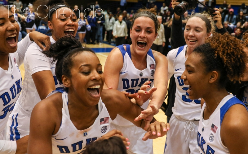 The Blue Devils earned their first win against a top-five opponent since December 2013.
