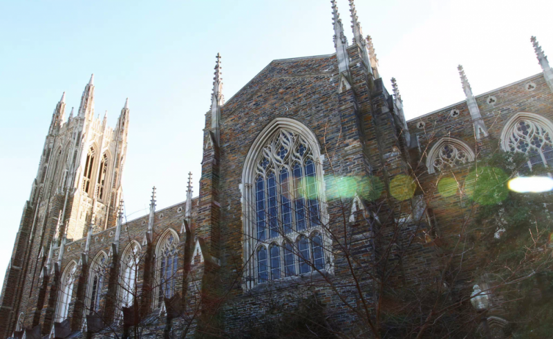 The admissions rate was the second most selective in Duke's history.