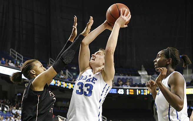 Haley Peters scored 17 points in Duke's win against Florida State.