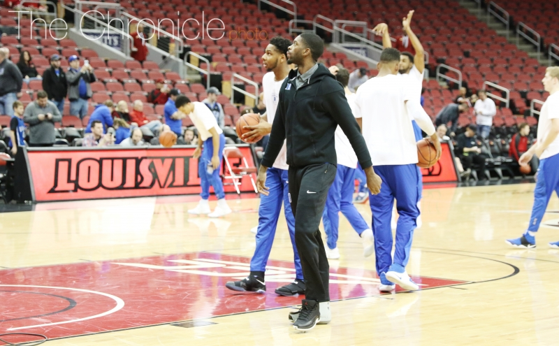 The Blue Devils sorely missed Amile Jefferson inside for the second straight game.