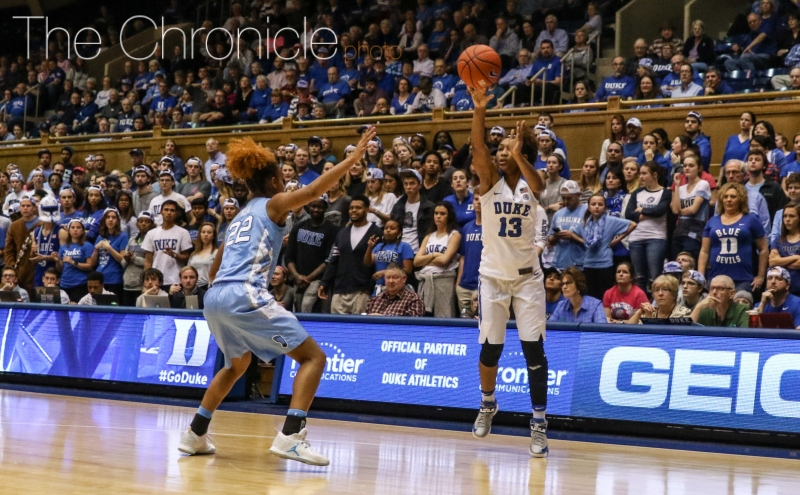 The Blue Devils moved the ball effectively last week against North Carolina but have struggled in recent road games to find an offensive rhythm.
