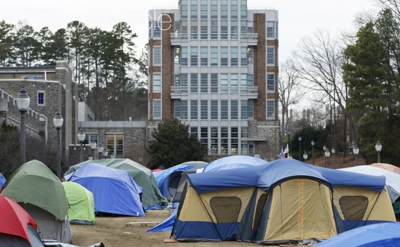 Chron Chat: Tenting edition