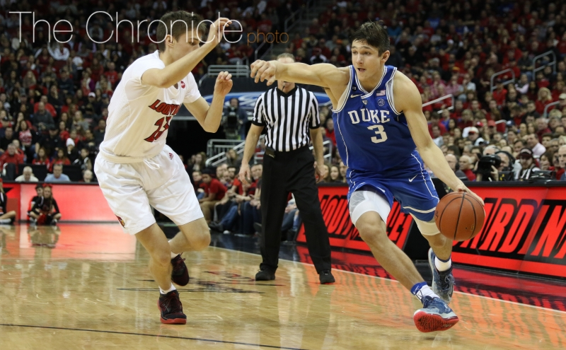 Grayson Allen leads the Blue Devils with 4.3 assists per game and will be called on to be a distributor against a defense that allows just 61.5 points per contest.