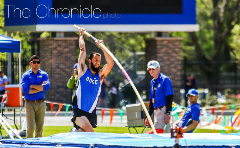 The Blue Devils are hoping for another strong performance in the field events this weekend.