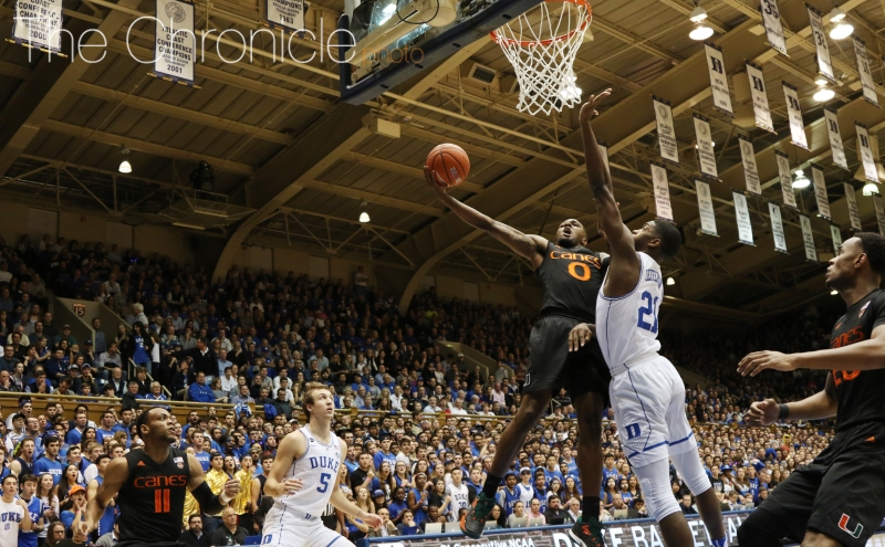 Graduate student Amile Jefferson helped the Blue Devils finally string together several defensive stops in a row in the second half in his first game in two weeks.