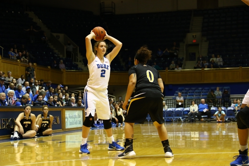 Haley Gorecki will miss the remainder of the season and take a redshirt year, head coach Joanne P. McCallie said Tuesday.