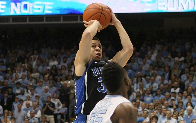 Seth Curry has been dealing with a leg injury all season and will need to manage it carefully during the grind of the ACC Tournament.