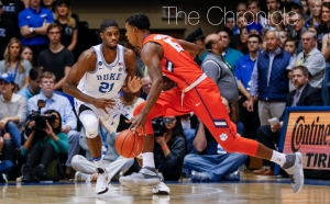 Graduate student Amile Jefferson and company have won two games in a row against the Cavaliers that have gone down to the wire.