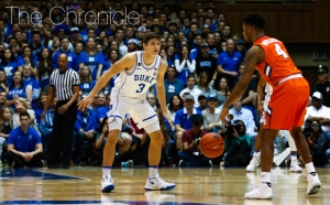 Grayson Allen and the Blue Devils have won six straight games in a row to vault back into contention for the ACC regular-season title.