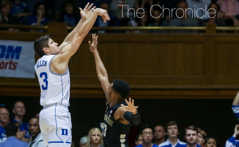 Grayson Allen has been playing through pain recently and will likely need to be effective Wednesday against a deep Syracuse backcourt.
