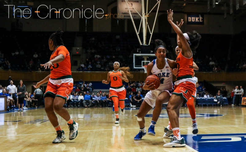 Junior Lexie Brown has led the Blue Devils to seven straight wins by at least 10 points, including  two against top-20 opponents.