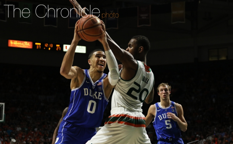 Chronicle postgame: Duke men's basketball vs. Miami