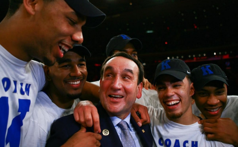 Duke will play St. John's at Madison Square Garden next year for the first time since Mike Krzyzewski's 1,000th career win in 2015.