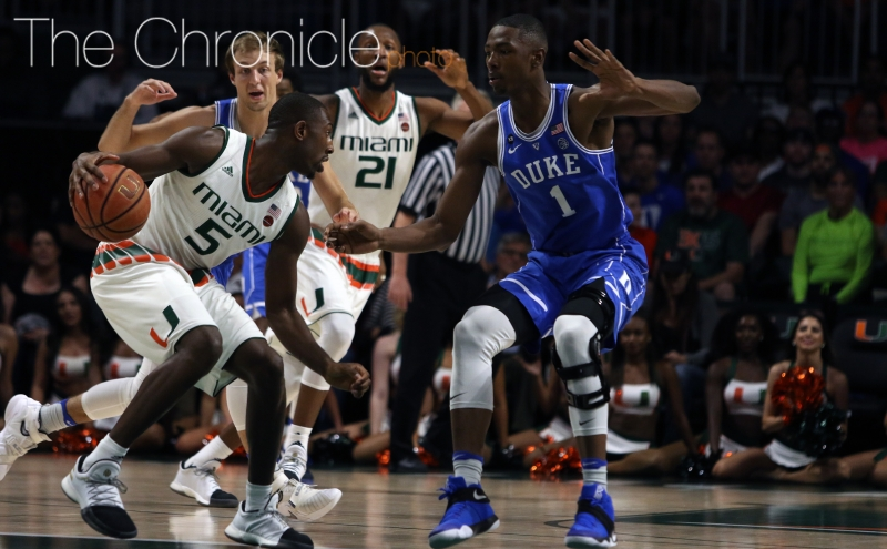 Freshman Harry Giles has not been able to make the impact many thought he could coming off a second serious knee injury suffered in November 2015 and a preseason knee scope.