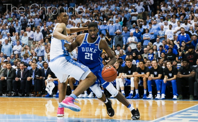 Graduate student Amile Jefferson and the Blue Devis have lost three of their last four games heading into the postseason.