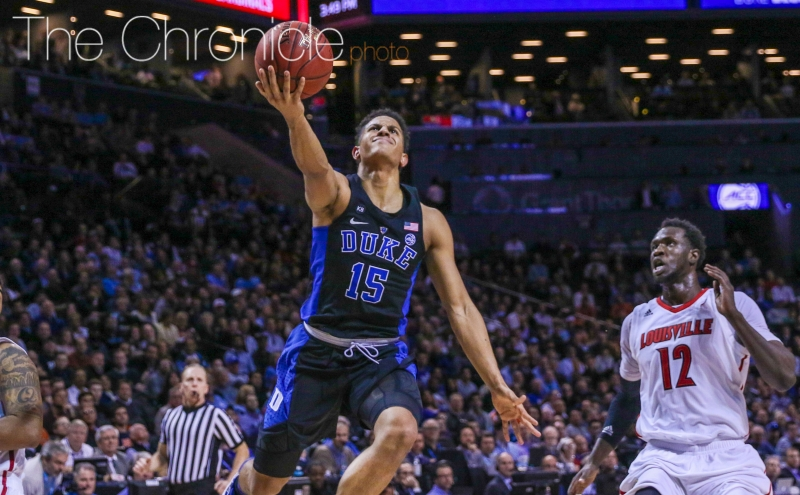 Freshman Frank Jackson will likely draw the assignment of Joel Berry II to start Friday's contest—Berry lit the Blue Devils up for 28 points Saturday.