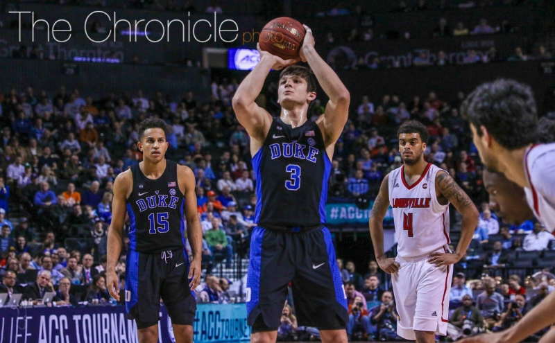 Grayson Allen's ability to attack the rim and get to the free throw line is one of the keys to watch Friday. He was more assertive as a slasher against Louisville.