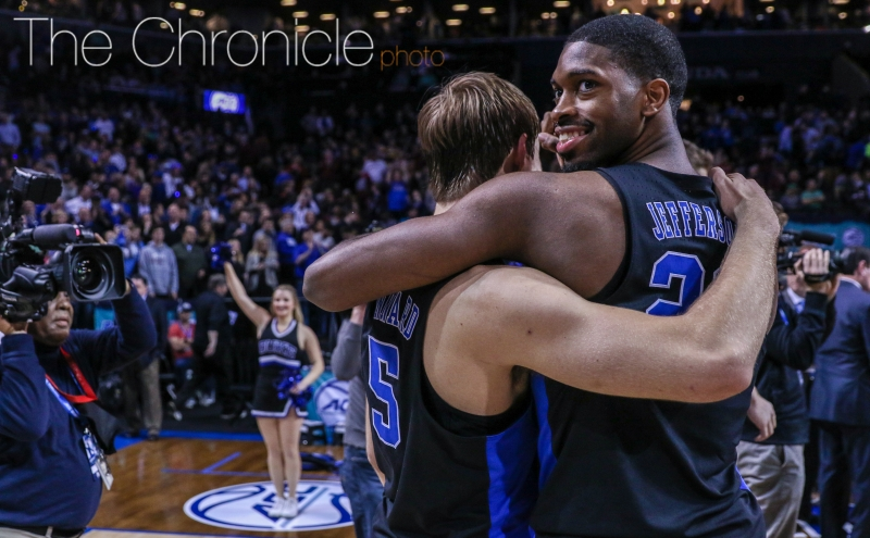 The Blue Devils are playing their best basketball of the season and will have the chance to earn their first ACC title in six years as a result.