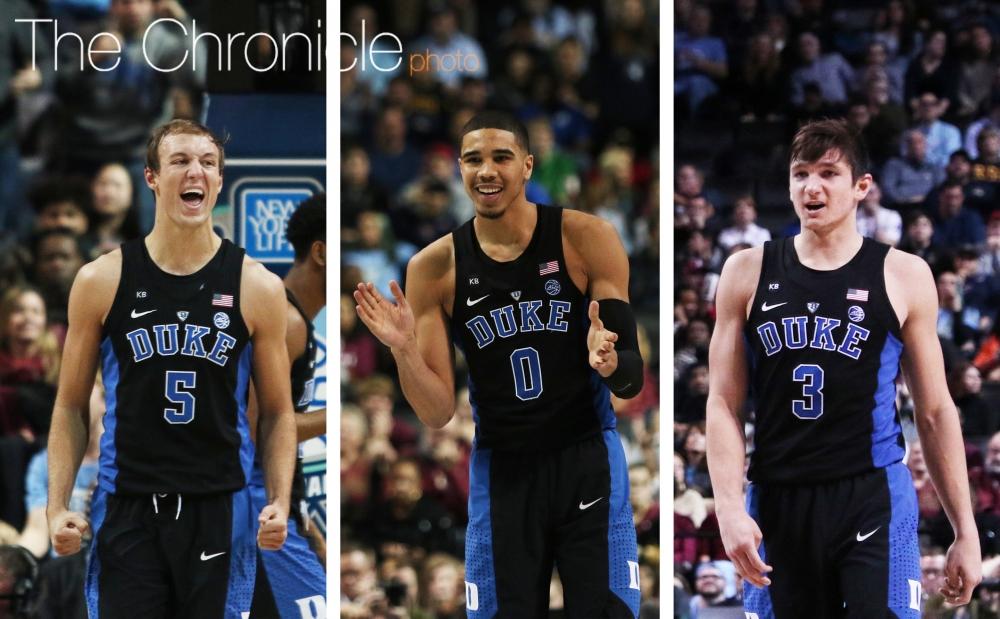 COMEBACK KIDS: Duke men's basketball overcomes second ...