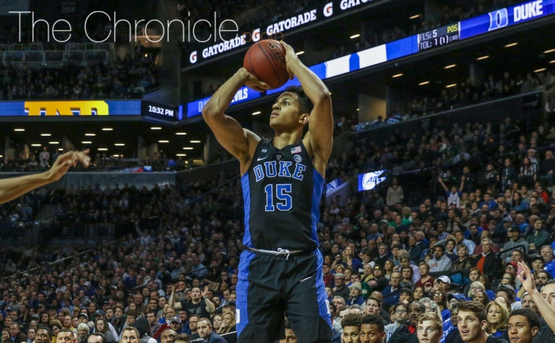 Frank Jackson continued making key plays in the second half Saturday-—the Blue Devils were much more balanced this week in New York.