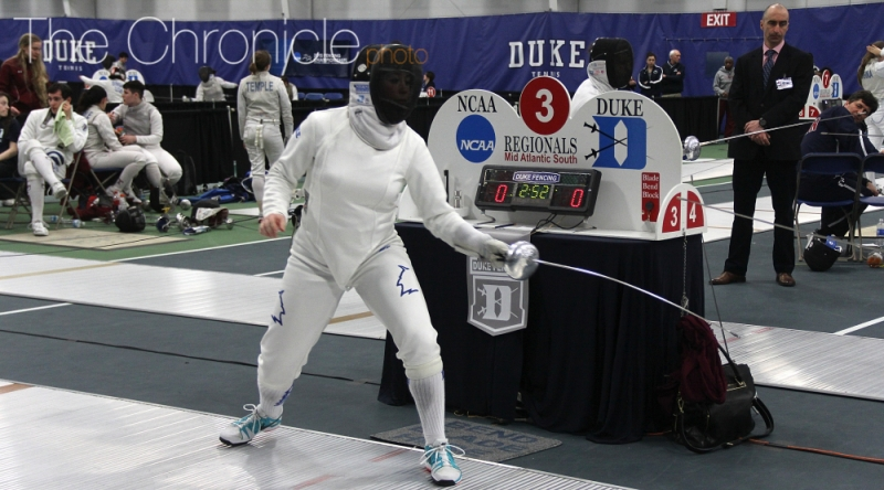 The Blue Devils will find out who will join Lee at the NCAA championship in the coming days.