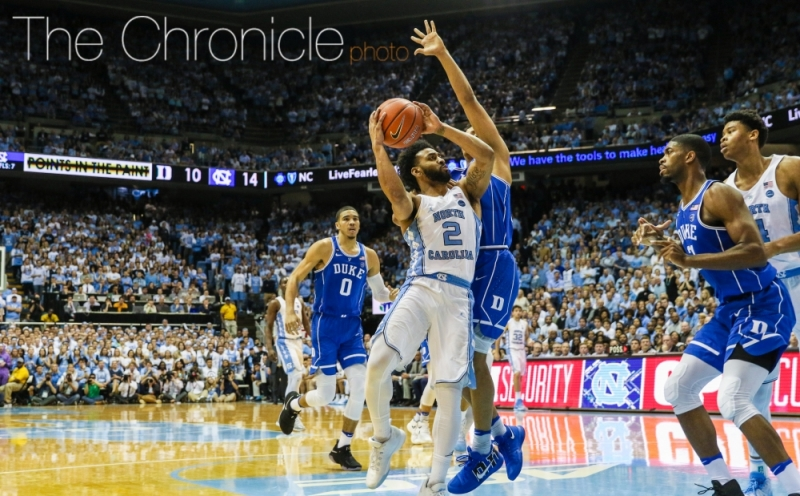Joel Berry II and the Tar Heels headline a loaded South region that also features Kentucky and UCLA.