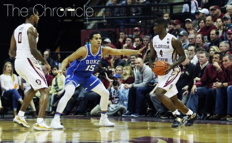 Dwayne Bacon led Florida State to the No. 3 seed in the West, but the Seminoles could be prone to early exit after going just 3-6 on the road in the regular season.