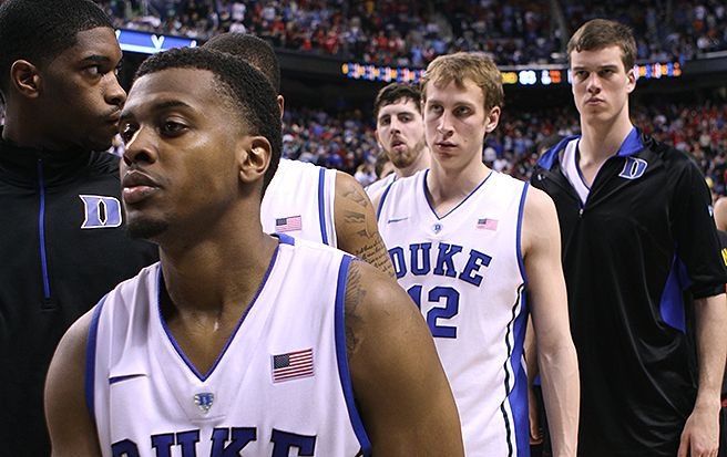 Duke fell 83-74 to Maryland in the quarterfinals of the ACC tournament.