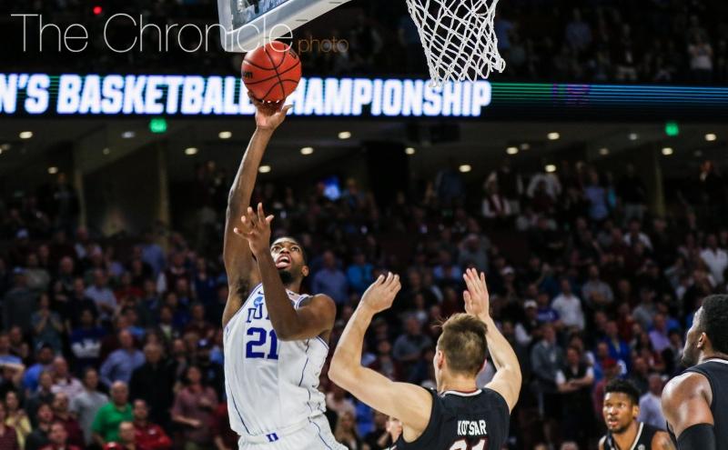 Beyond the arc: Duke men's basketball vs. South Carolina