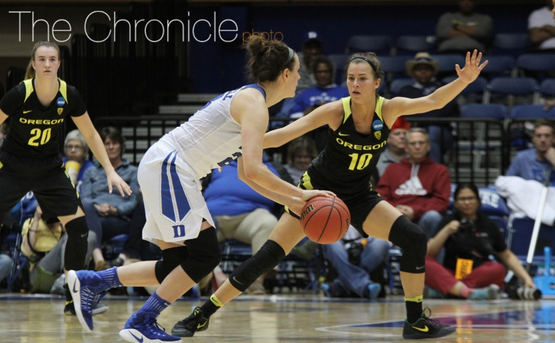 The Ducks were able to keep Duke out of transition by limiting turnovers and taking quality shots.