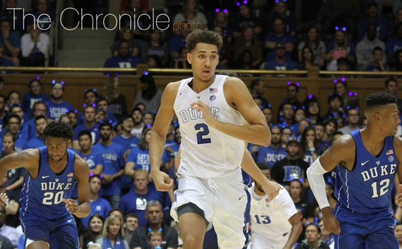 Chase Jeter joins a long list of Blue Devils to transfer out of the program in recent years.