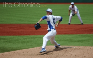 Ryan Day pitched six strong innings for his second straight quality start to help Duke avoid a sweep.