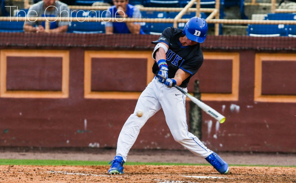 22c75adf9 Like father, like son: Griffin Conine bursts onto the scene for Duke  baseball in 2017