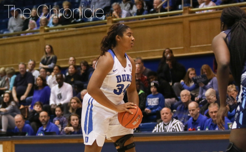 The Blue Devils will now enter the 2017-18 without three of their post players after Lyneé Belton announced her retirement Wednesday evening.