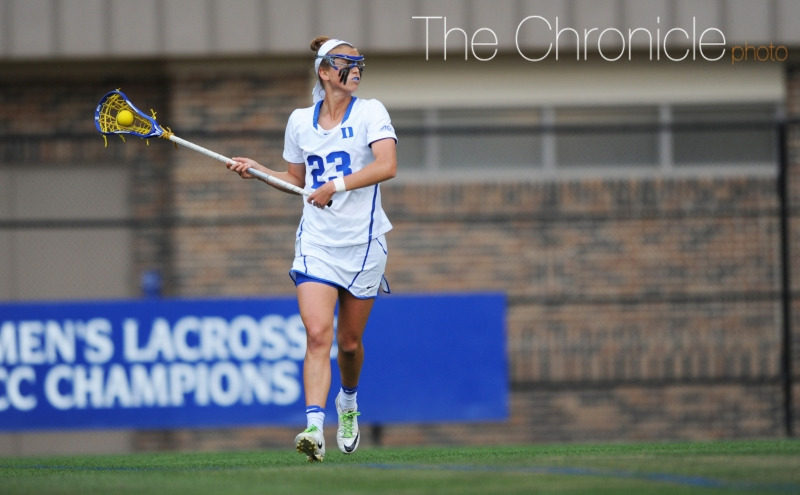 Junior All-American Maddie Crutchfield has raised her level of play late in the season—she will need to have a huge day for Duke to compete with North Carolina Saturday.